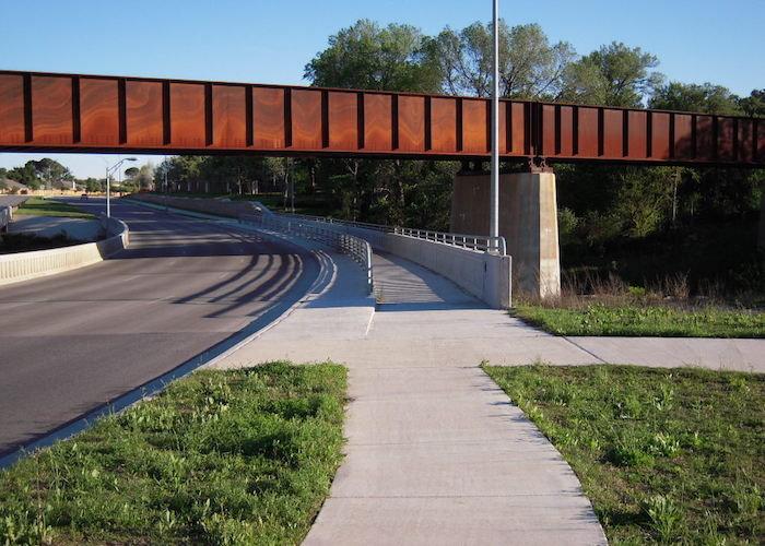 A.W. Grimes Blvd New Location Roadway
